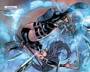 Elizabeth Braddock (Earth-616) and Yukio (Earth-616) from Psylocke Vol 1 2 0001