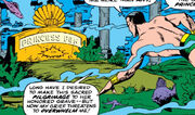 Fen (Earth-616) buried in old Atlantis from Tales to Astonish -96