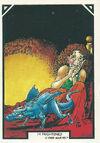 Frightend from Arthur Adams Trading Card Set 0001