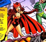 Jean Grey (Earth-616) posing as the Scarlet Witch from X-Men the Hidden Years Vol 1 8