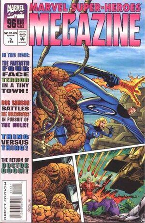 Marvel Super-Heroes Megazine Vol 1 5