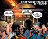 Massachusetts Institute of Technology from Uncanny Avengers Vol 3 2