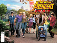 New Avengers Finale Vol 1 1 2nd Printing Unmasked Variant
