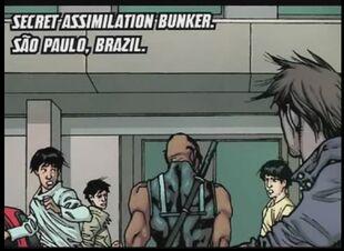 São Paulo from X-Men Curse of the Mutants - Blade Vol 1 1 0001
