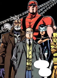 Special Agent Arthur Weadonìs Team (Earth-982) from Spider-Girl Vol 1 64 0001