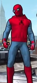 Spider-Man (Homemade Suit) (Peter Parker) from Spider-Man Unlimited (Video Game) 0001