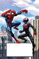 Spider-Men Vol 1 1 Mark Bagley Variant Textless.jpg