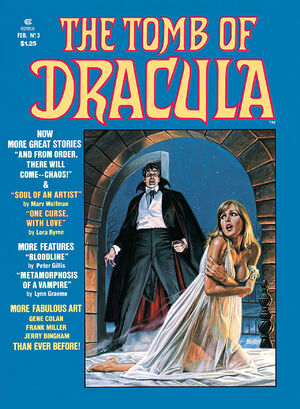 Tomb of Dracula Vol 2 3