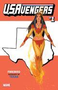 U.S.Avengers Vol 1 1 Texas Variant