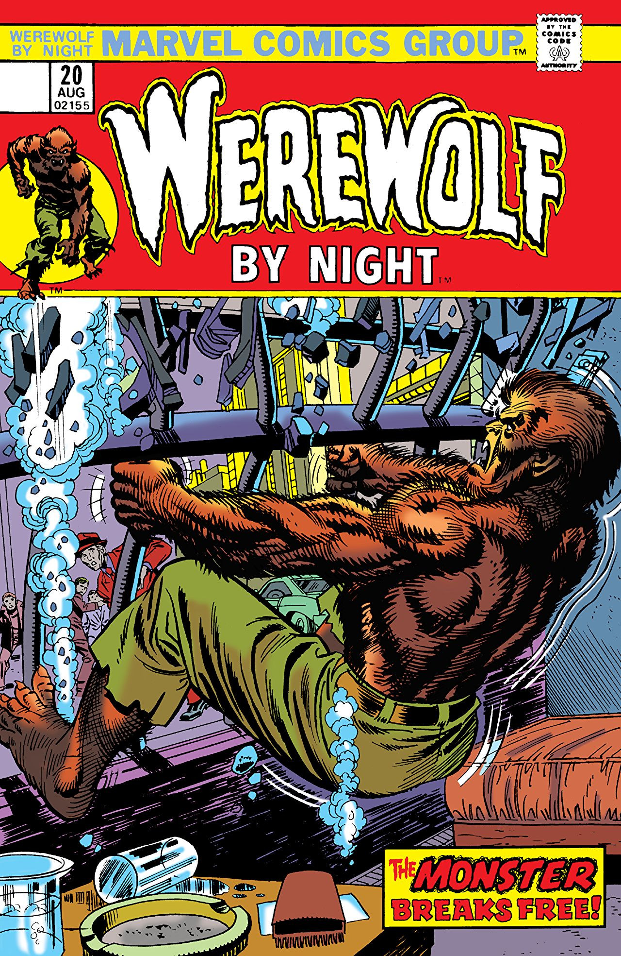 Werewolf by Night Vol 1 20 | Marvel Database | FANDOM ...