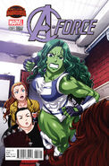 A-Force Vol 1 4 Manga Variant