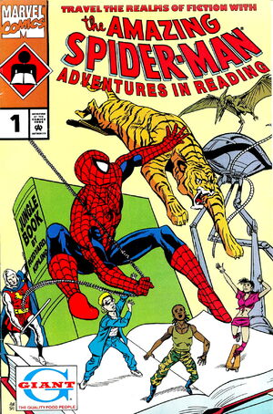 Adventures in Reading Starring the Amazing Spider-Man Vol 2 1