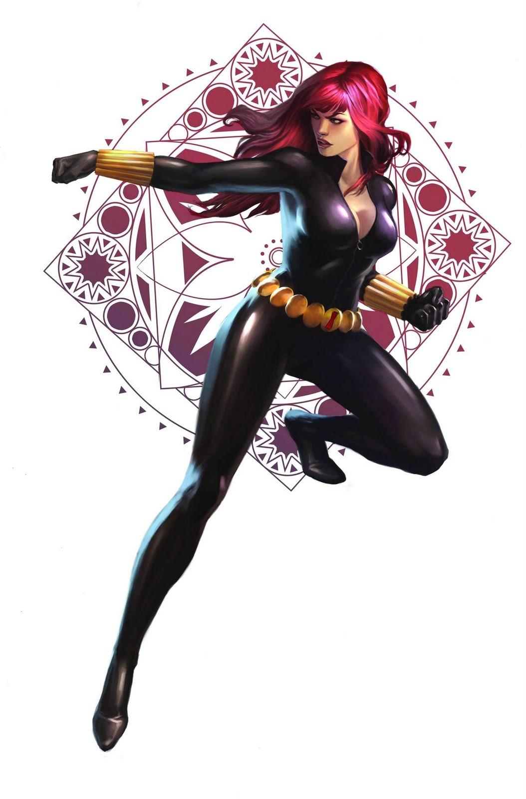 Black Widow S Suit Marvel Database Fandom