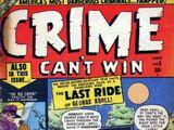 Crime Can't Win Vol 1 5