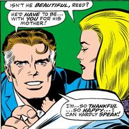 Franklin Richards after he was born in Fantastic Four Annual Vol 1 6