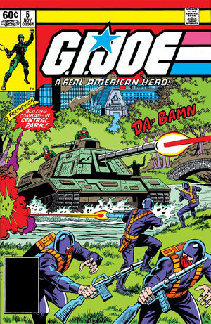 G.I. Joe A Real American Hero Vol 1 5