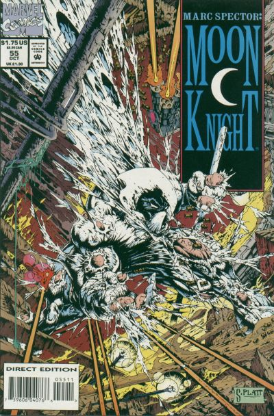 Image result for marc spector moon knight 55
