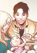 Mari-Ell (Earth-616), Joseph Danvers, Sr. (Earth-616) and Carol Danvers (Earth-616) from Life of Captain Marvel Vol 2 4 001