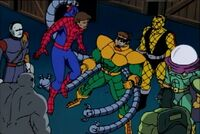 Peter Parker (Earth-92131) and Insidious Six (Earth-92131) from Spider-Man The Animated Series Season 2 2 0001