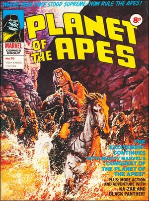 Planet of the Apes (UK) Vol 1 70