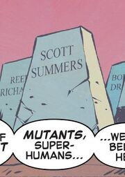 Scott Summers (Earth-25158) from Years of Future Past Vol 1 4 001