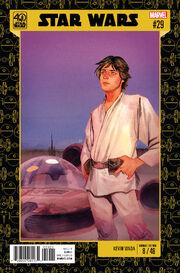Star Wars Vol 2 29 Star Wars 40th Anniversary Variant