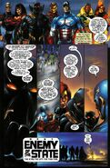 T'Challa (Earth-616) and Avengers (Earth-616) from Black Panther Vol 3 8 0001