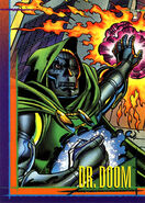 Victor von Doom (Earth-616) from Marvel Universe Cards Series IV 0001