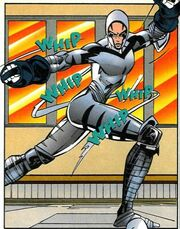 White Tiger (Evolved Tiger) (Earth-616) from Heroes from Hire Vol 1 3