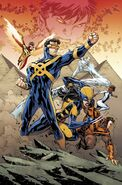 All-New X-Men Vol 2 9 Lashley Connecting Variant Textless