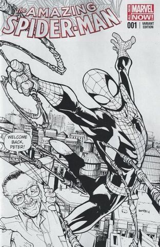 File:Amazing Spider-Man Vol 3 1 Stan Sketch Variant.jpg