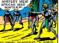 Bird-Men (African Tribe) from Daring Mystery Comics Vol 1 2 0001