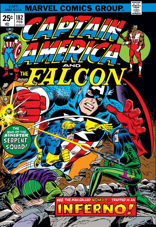 Captain America Vol 1 182 | Marvel Database | FANDOM ...