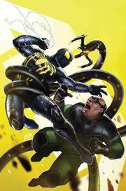 Marvel's Spider-Man City at War Vol 1 6 Tsang Variant Textless
