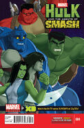 Marvel Universe Hulk and the Agents of S.M.A.S.H. Vol 1 4