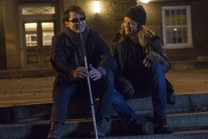 Matthew Murdock (Earth-199999) and Franklin Nelson (Earth-199999) from Marvel's Daredevil Season 1 10