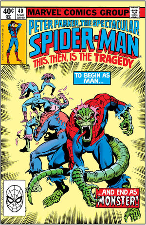 Peter Parker, The Spectacular Spider-Man Vol 1 40