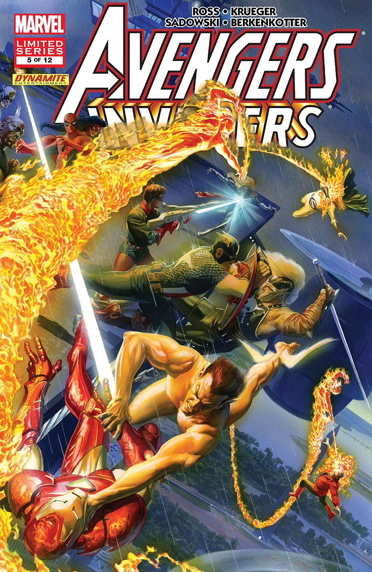 Avengers Invaders Vol 1 5