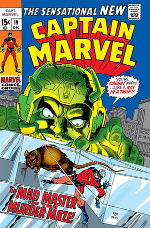 Captain Marvel Vol 1 19
