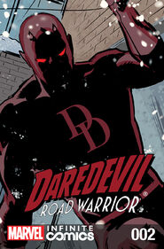 Daredevil Road Warrior Infinite Comic Vol 1 2
