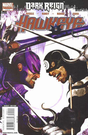 Dark Reign Hawkeye Vol 1 2