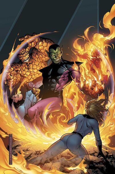 Fantastic Four Foes Vol 1 3 Textless