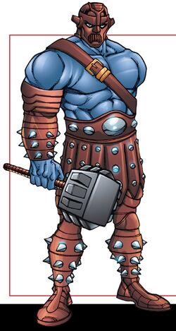 Grendell (Dark Elf) (Earth-616) from Thor Asgard's Avenger Vol 1 1 001