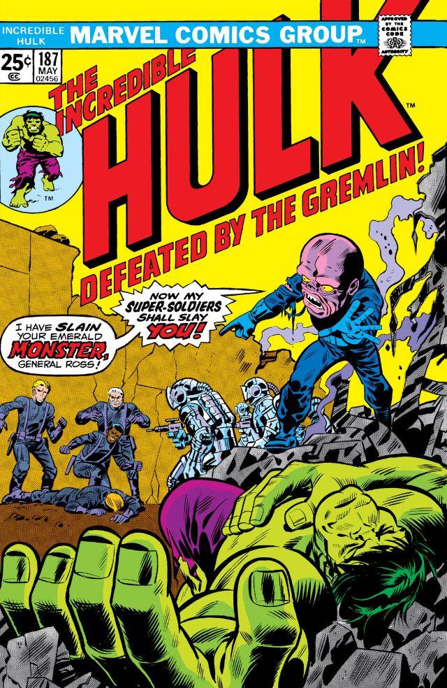 Incredible Hulk Vol 1 187