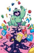 Indestructible Hulk Vol 1 1 Baby Variant Textless
