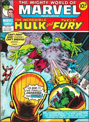 Mighty World of Marvel Vol 1 276