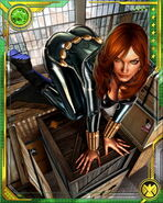 Natalia Romanova (Earth-616) from Marvel War of Heroes 018