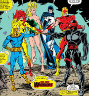 New Warriors (Earth-616) from New Warriors Vol 1 1 0001