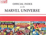 Official Index to the Marvel Universe Vol 1 4