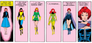 Phoenix Force as Jean Grey (Earth-616) from X-Men Vol 1 125 0001